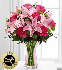The Garden Terrace™ Bouquet by FTD® - VASE INCLUDED