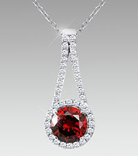 January Floral Jewels™ Birthstone Collection - Garnet