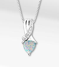 October Floral Jewls™: Birthstone Collection - Opal