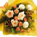 Yellow & Orange Seasonal Bouquet