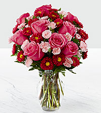 The FTD® Precious Heart™ Bouquet- VASE INCLUDED