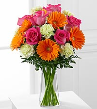 The FTD® Pure Bliss™ Bouquet - VASE INCLUDED
