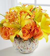 The FTD® Celebration Bouquet - VASE INCLUDED
