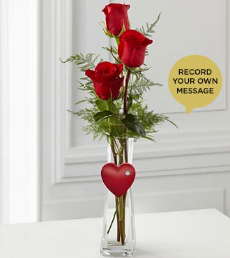 The FTD® Cheerful Greetings Say It Your Way'™ Holiday Bouquet