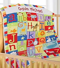 Bright & Cheery ABC's Quilt