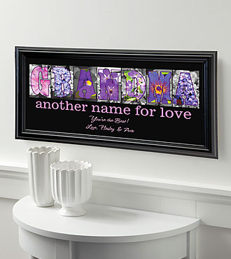 Personalized Another Name for Love Print - Grandma
