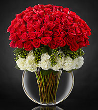 Lavish Luxury Rose Bouquet - 75 Stems of Premium 24-inch Long-Stemmed Roses - VASE INCLUDED