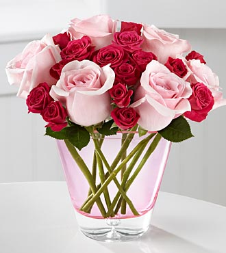 The FTD® Perfect Rose Bouquet by Better Homes and Gardens™ - VASE INCLUDED