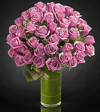 Sensational Luxury Rose Bouquet - 24-inch Premium Long-Stemmed Roses - VASE INCLUDED