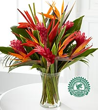 Paradise Found Tropical Bouquet - VASE INCLUDED