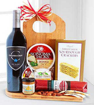 Gourmet Wine & Cheese Board - Good