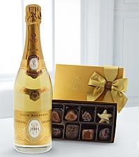 Cristal® Champagne & Godiva® Gift Set
